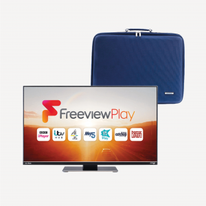 199DSFVP 19.5″ TV Freeview Play Satellite Decoder Full HD & 19.5″ Carry Case Bundle