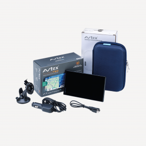 Avtex Tourer-Two (Caravan & Motorhome Club Edition) and 7″ Carry Case Bundle